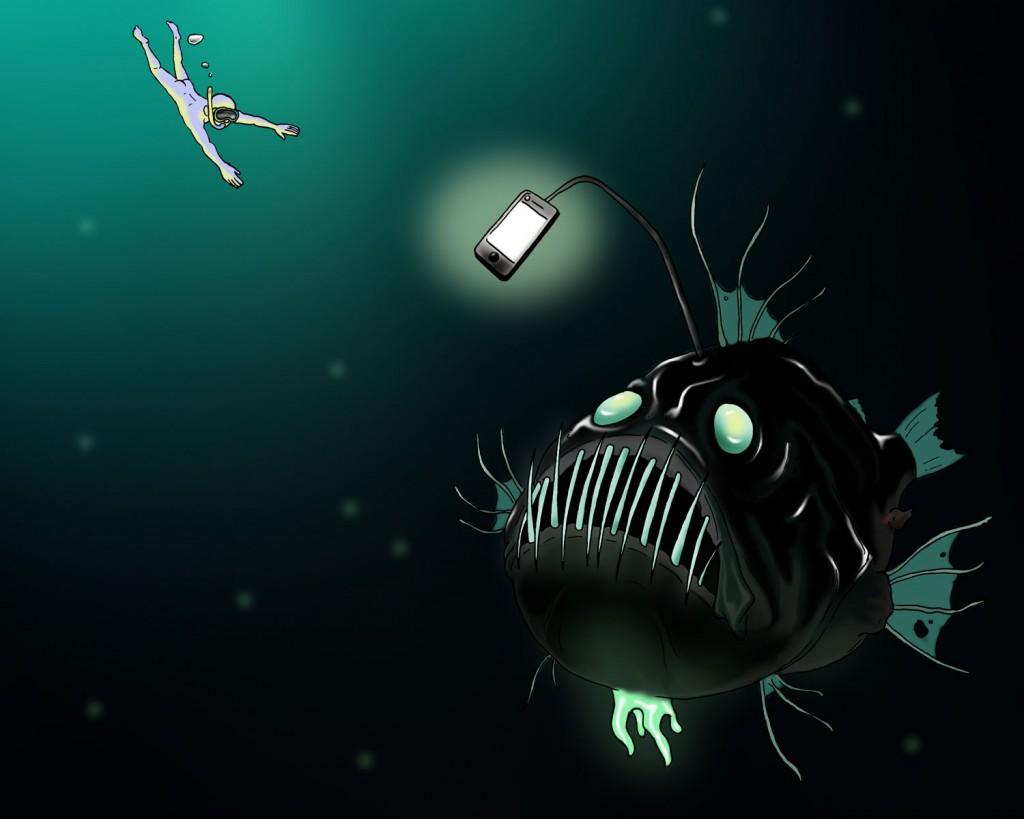 Illustration till artikel om serien Black Mirror