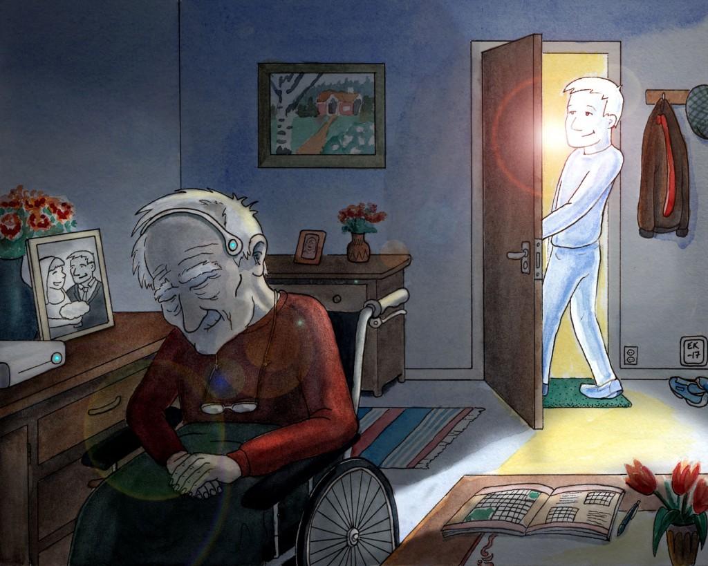 Illustration till artikel om virtuell verklighet